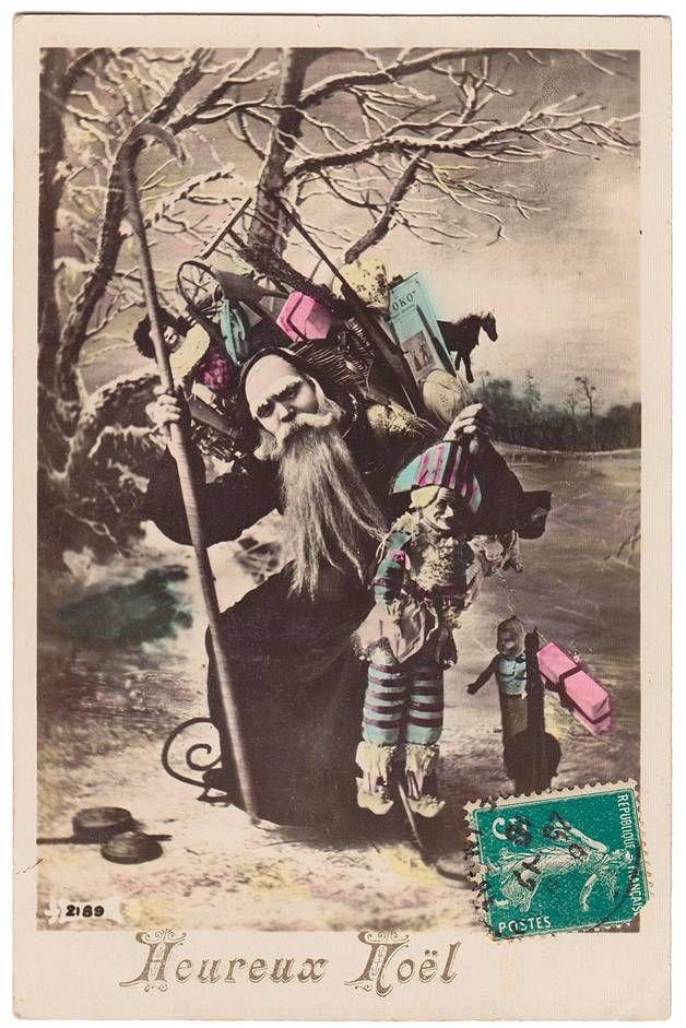 Raskasta joulua. Ranska, 1910.
