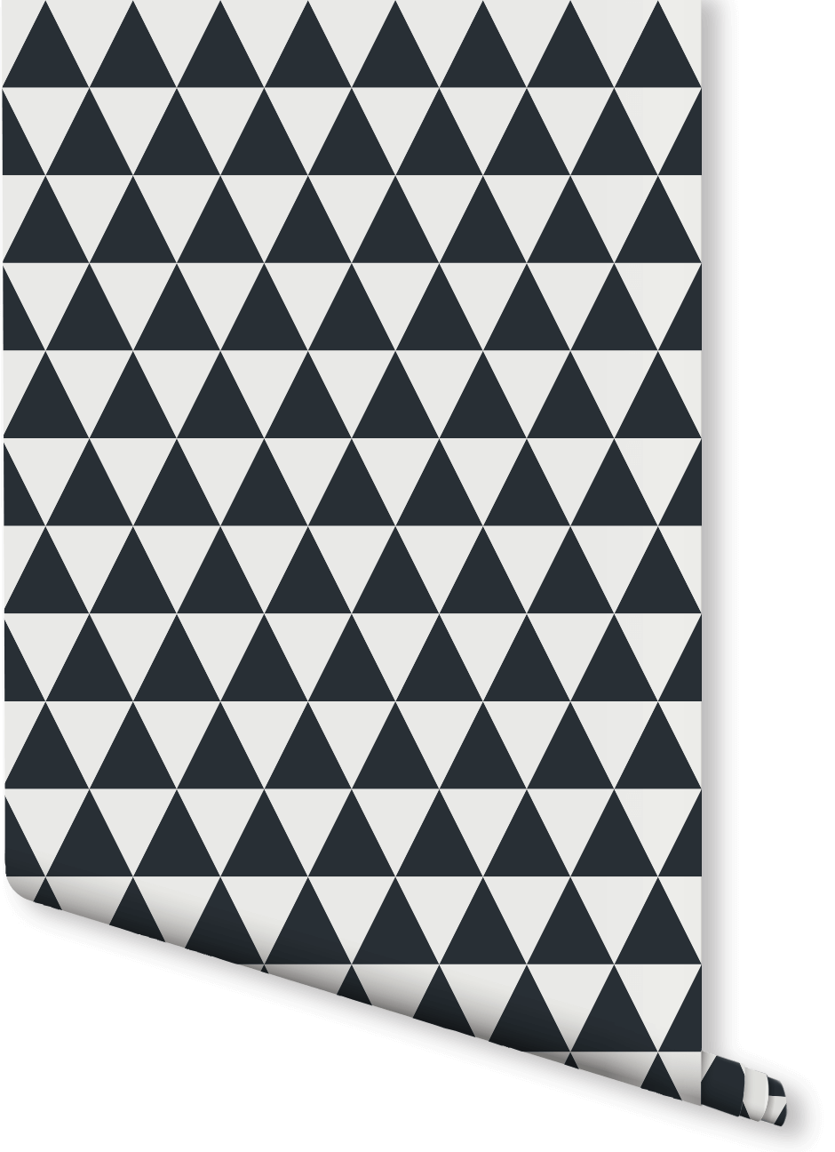 Small Triangle Print Wallpaper Milexa Print Wallpaper Geometric Wallpaper Design Geometric Pattern Wallpaper