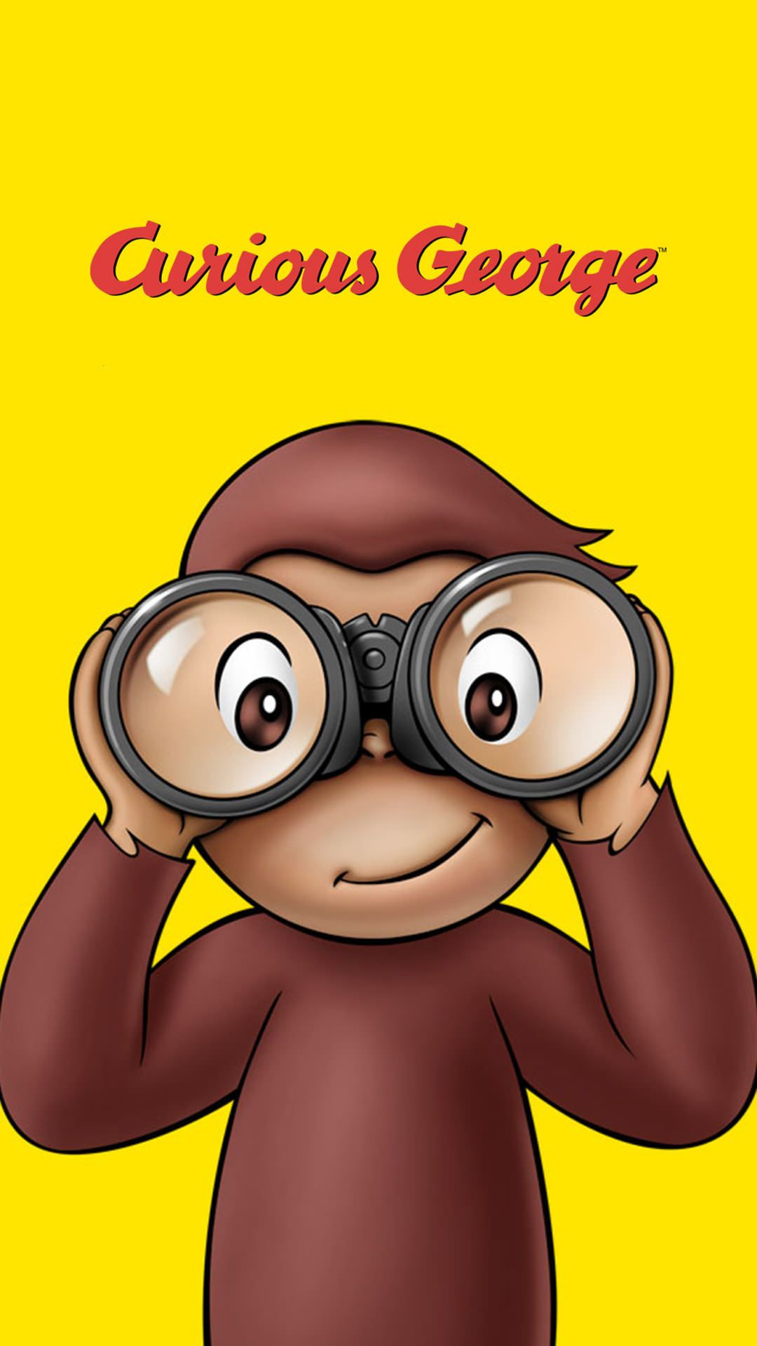 Curious George iPhone Wallpaper おさるのジョージのiPhone壁紙