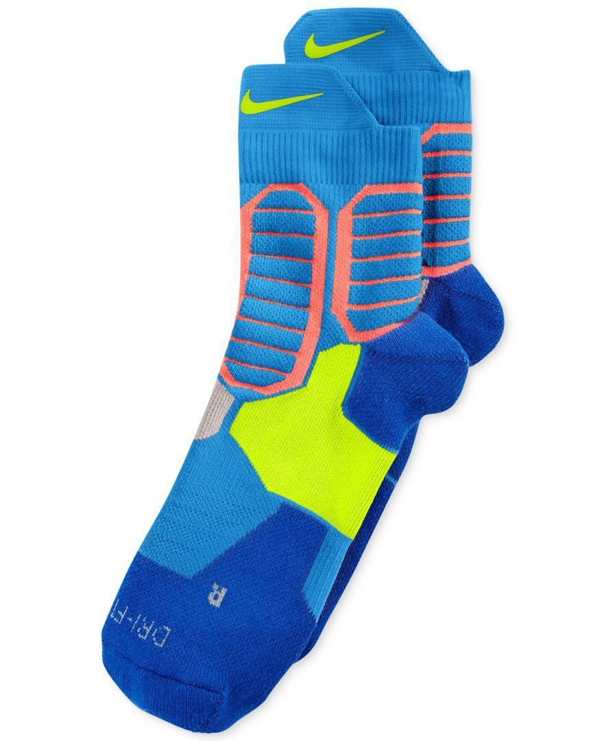 Nike Men's Hyper Elite Basketball High Quarter Socks