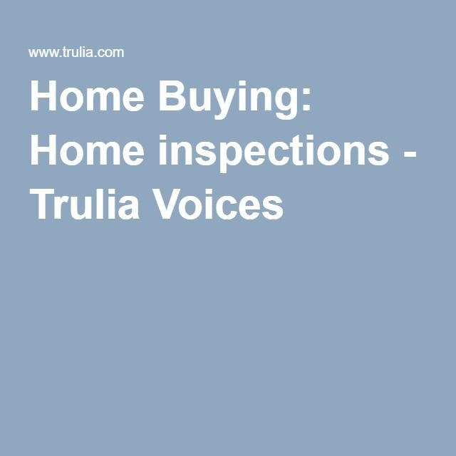 Trulia Real Estate Listings Homes For Sale Housing Data: Home Buying: Home Inspections