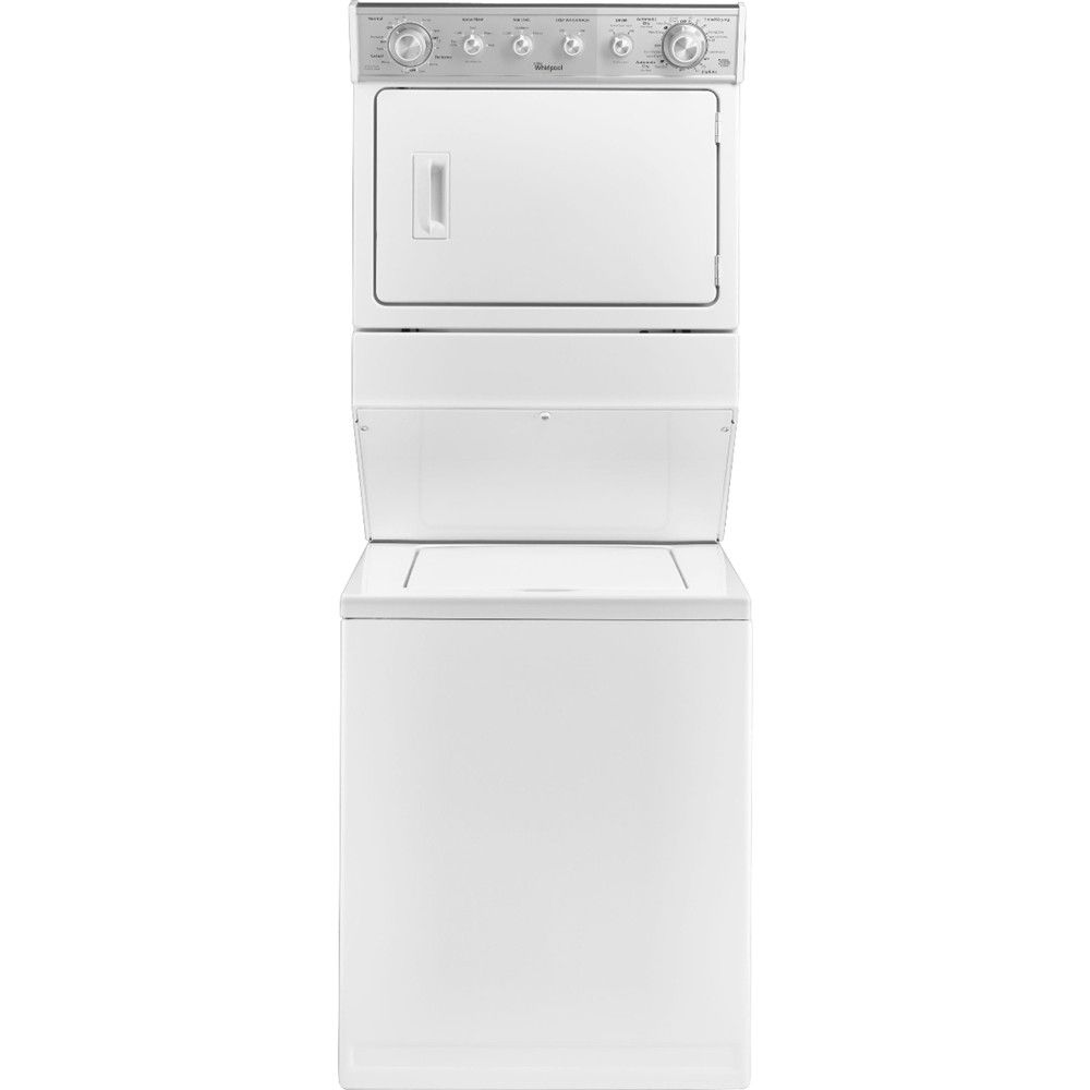Whirlpool 2 5 Cu Ft 4 Cycle Washer And 5 9 Cu Ft 6 Cycle