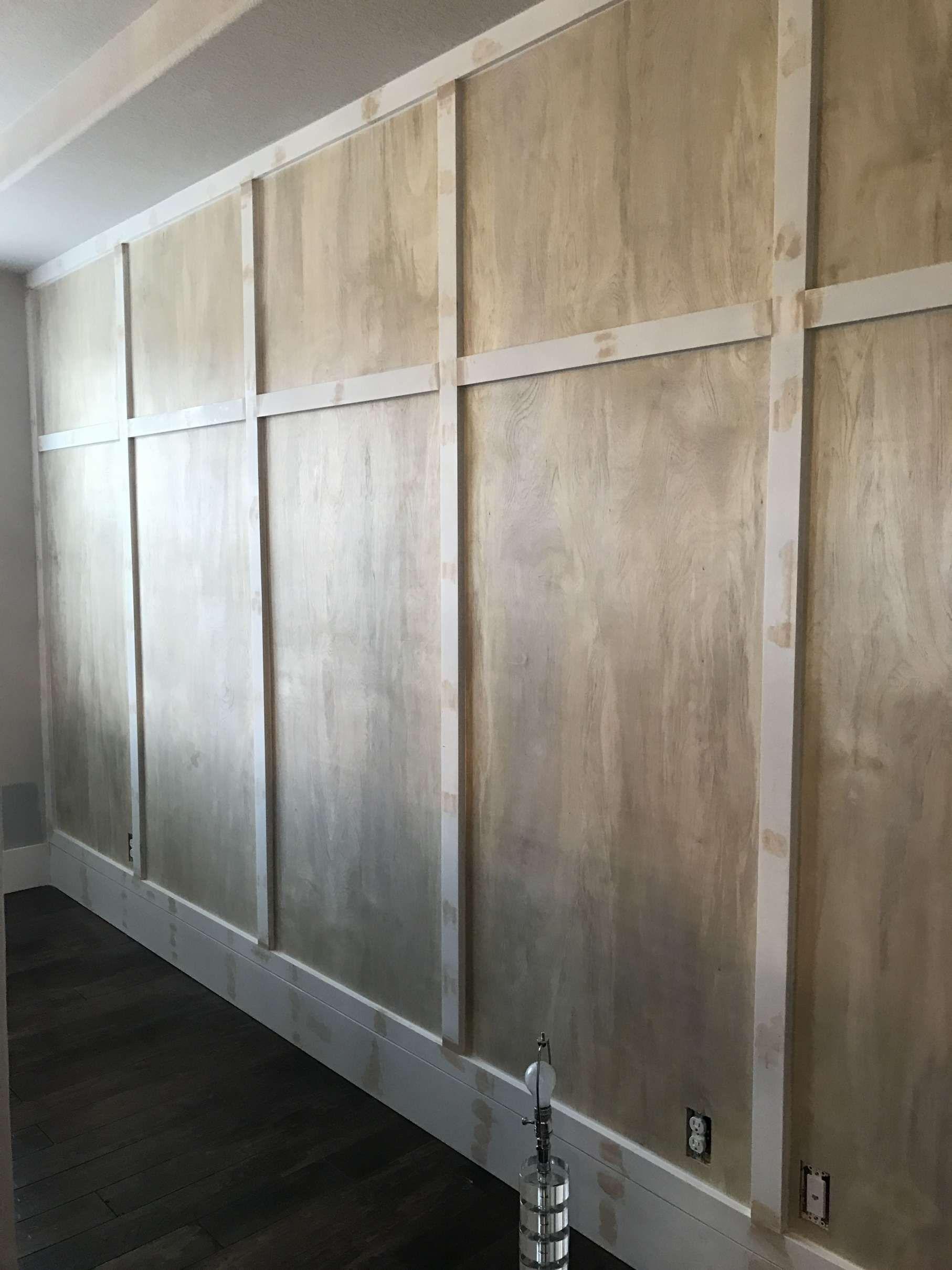 27++ Wood paneling for garage walls info