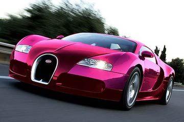 Paris Pink Bugatti Veyron | Bugatti Veyron Wallpaper Puictures Pink