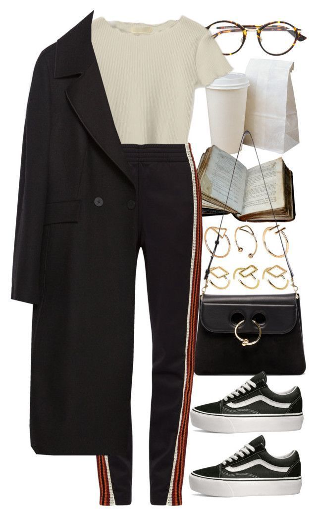 Untitled #11189 by nikka-phillips � liked on Polyvore featuring Christian Dior, ASOS, J.W. Anderson, Wales Bonner, Zara and Vans #outfits4school
