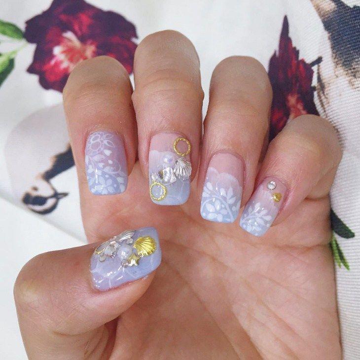 ocean nail art designs 2016 - style you 7 | aquatic nails ...