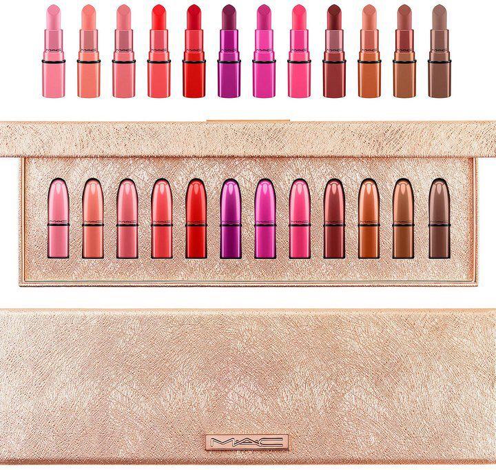 MAC Snow Ball Mini Lipsticks Kit x 12