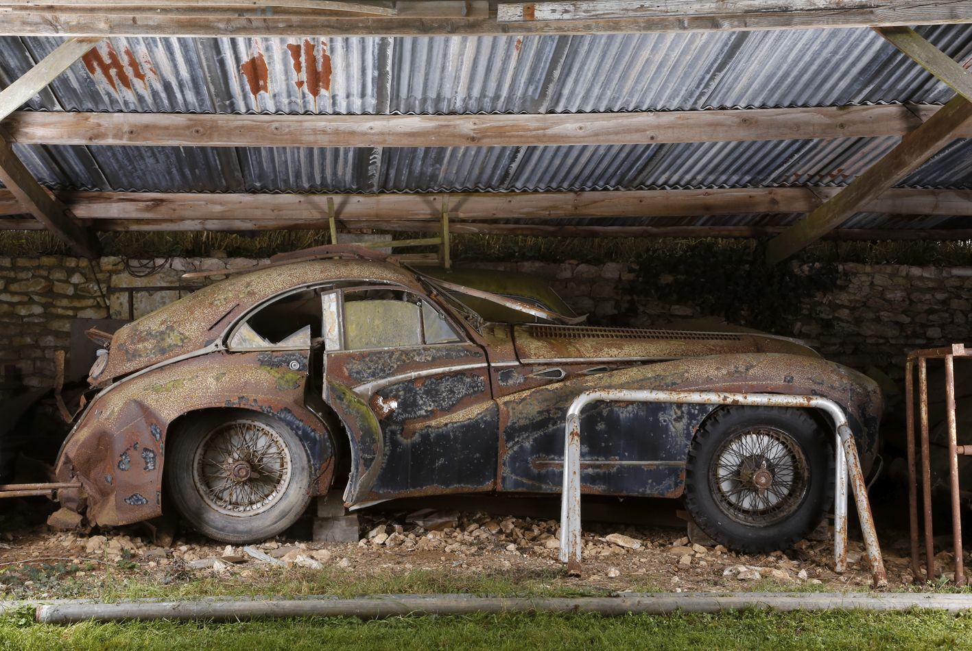 The Story Behind Barn Find 50 Year Old Ferrari That Just