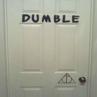 Dumble door finds a new meaning here - a clever funny pun on a classic Harry Potter character! & I love hp puns!!!   Harry Potter Stuff   Pinterest   Harry potter ...
