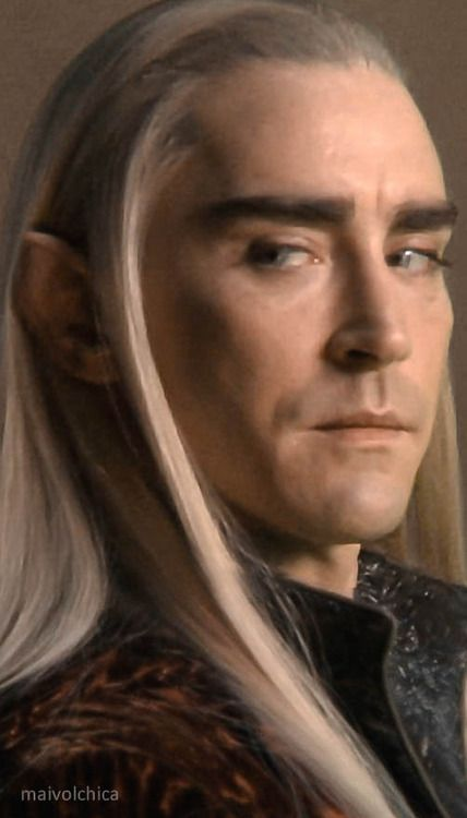 #LeePace as #Thranduil in The Hobbit: The Battle of the Five Armies via maivolchica on Tumblr.