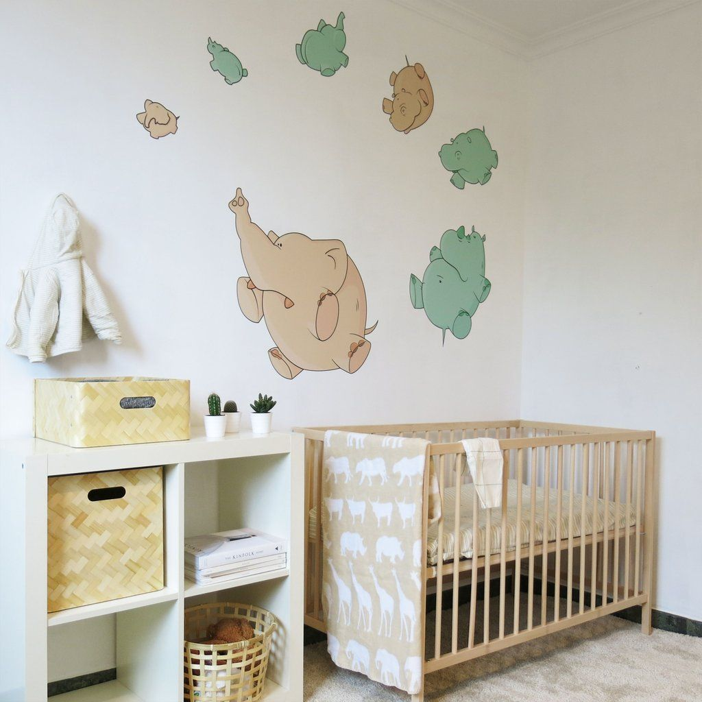Baby Room Ideas Unisex Gender Neutral Nursery Wall Decal Bubbles And
