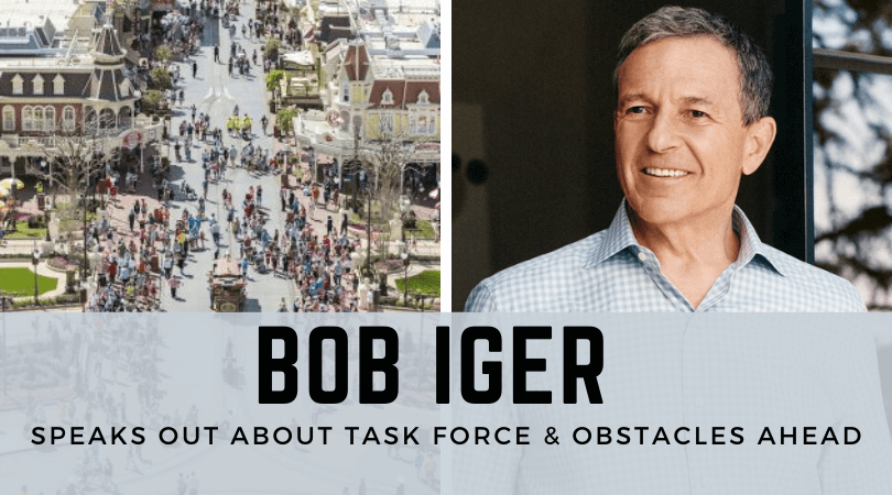 Iger Shares Biggest Obstacles Facing Disney Parks Reopening