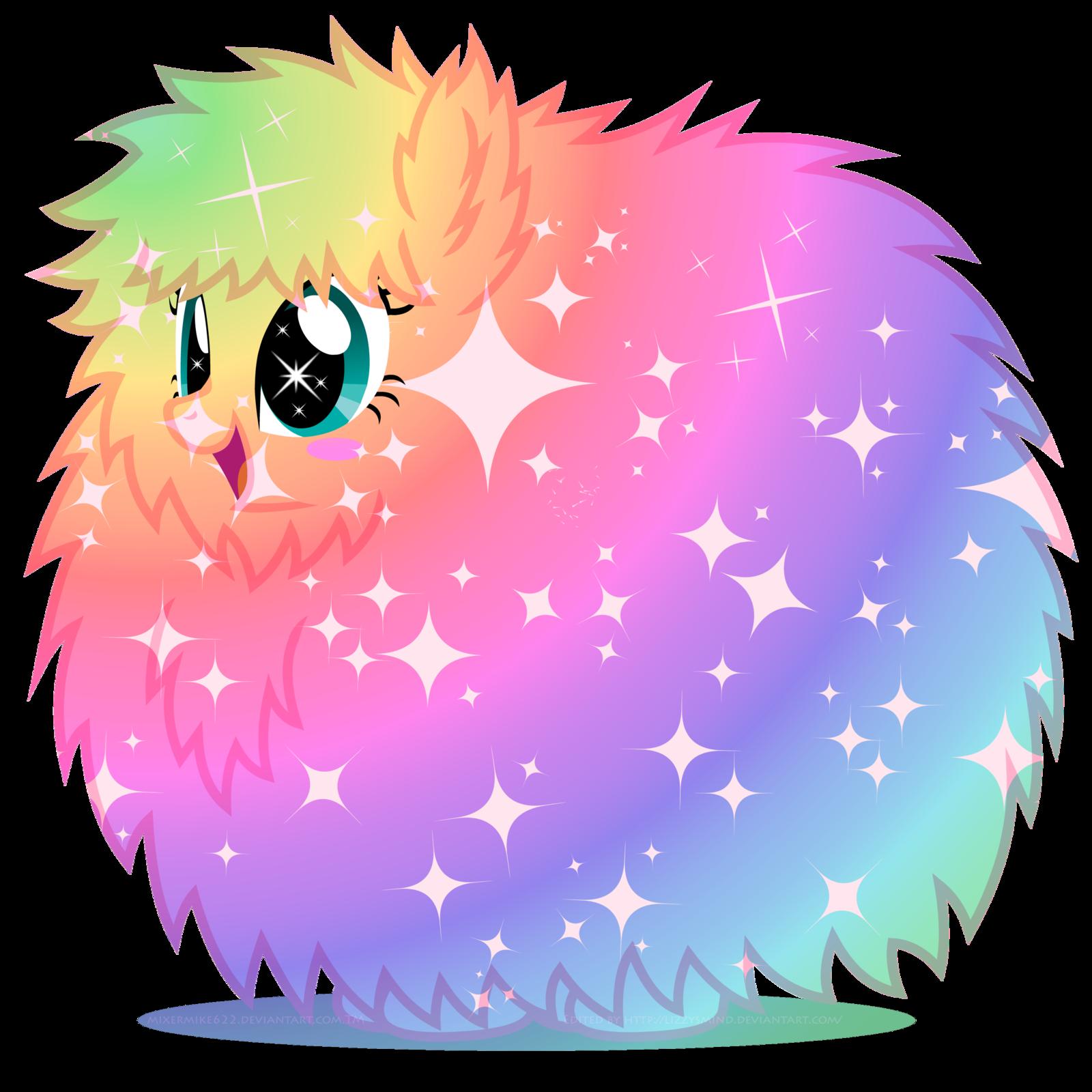 Pink Fluffy Unicorns Dancing On Rainbows Fluffle Puff