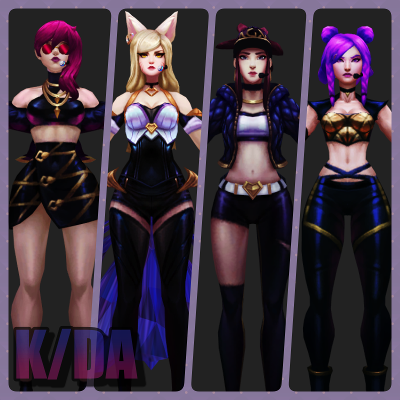 , KDA Model Rig Planning by AceYoen on DeviantArt, My Pop Star Kda Blog, My Pop Star Kda Blog