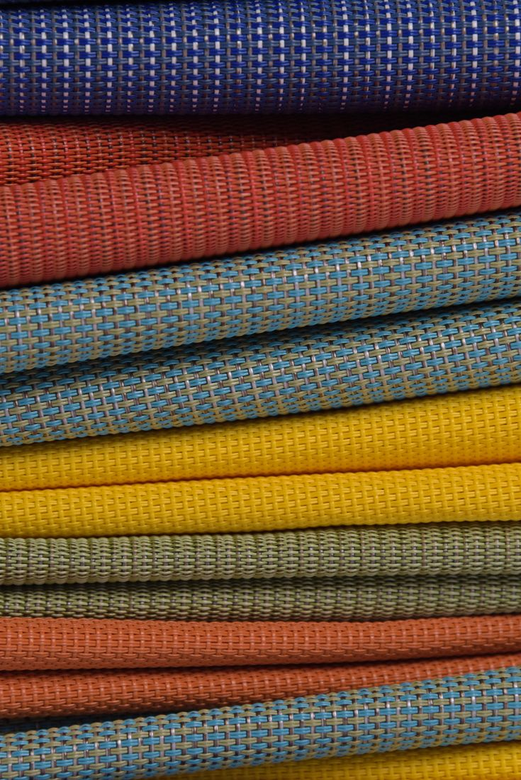 Colorful Brights Phifertex Sling Fabric Outdoor Furniture Fabric