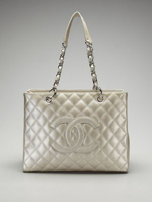 A Second Chance Vintage Chanel Metallic Grand Per Tote Love It Have 4 Colors