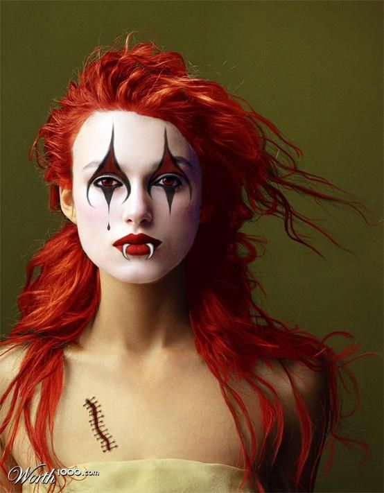Evil Celebrity Clowns Worth1000 Contests Maquillage