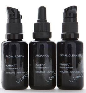 if you're ready to transition to non-toxic skin care, kahina giving beauty is the BEST and for all skin types, including OILY/ACNE!!!
