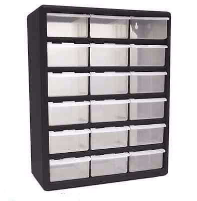 Hardware Plastic Storage Containers Parts Organizer Drawer Garage