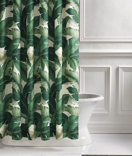 8 Shower Curtains To Upgrade Your Bathroom Tropical Shower