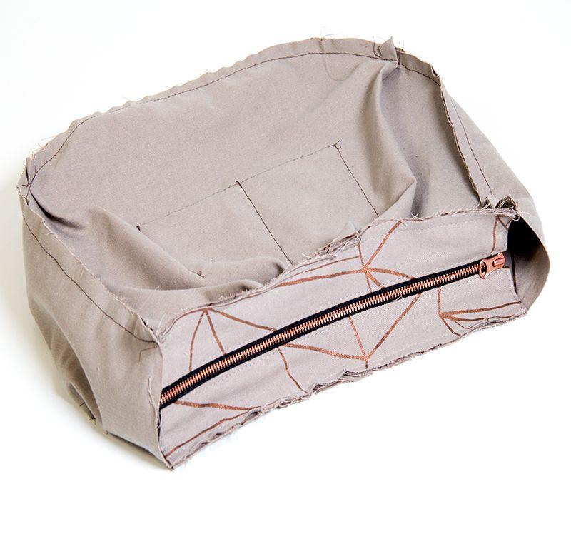 Hobo Tasche nähen | Pattydoo, Innentasche und Reißverschluss