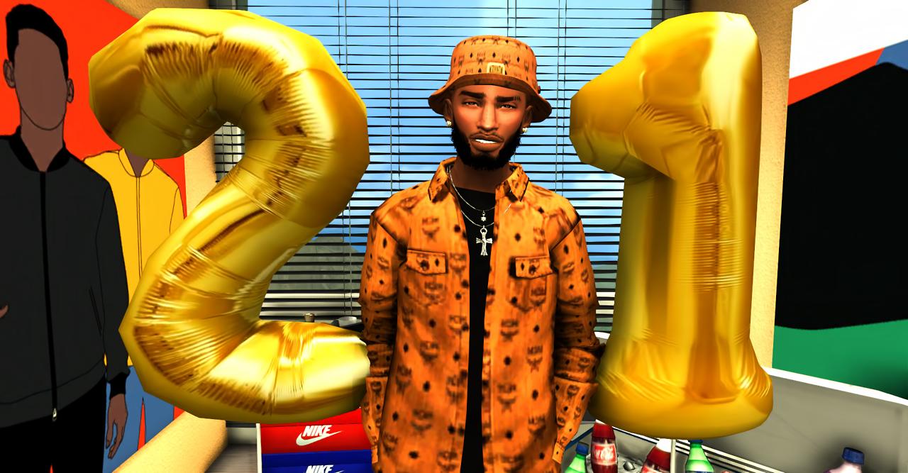 "ebonixsims: ""Ebonix   Birthday Number BalloonsThe turn up ..."