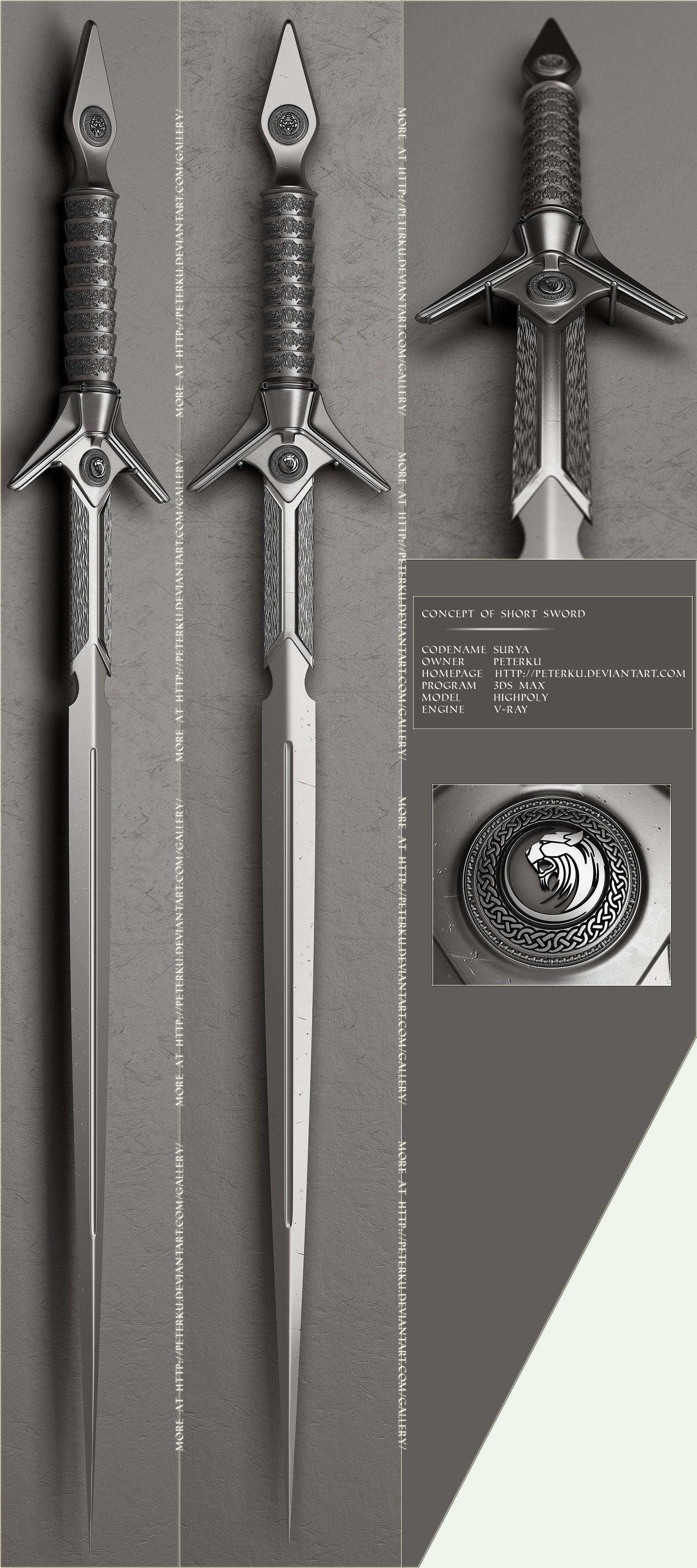 Surya By Peterku On Deviantart Sword Design Sword Cool Swords