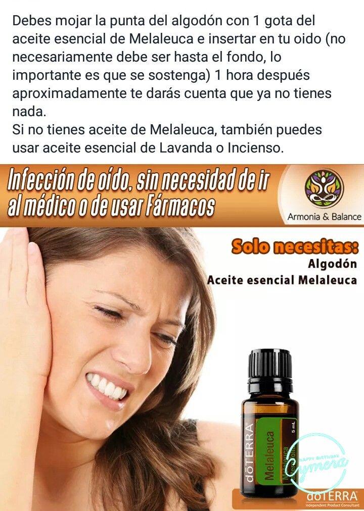remedios para la infeccion en el oido