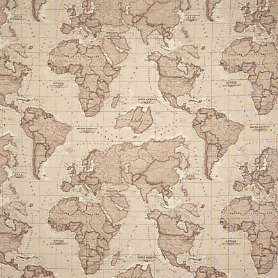 Buy john lewis world map fabric mocha online at johnlewis buy john lewis world map fabric mocha online at johnlewis john lewis gumiabroncs Images