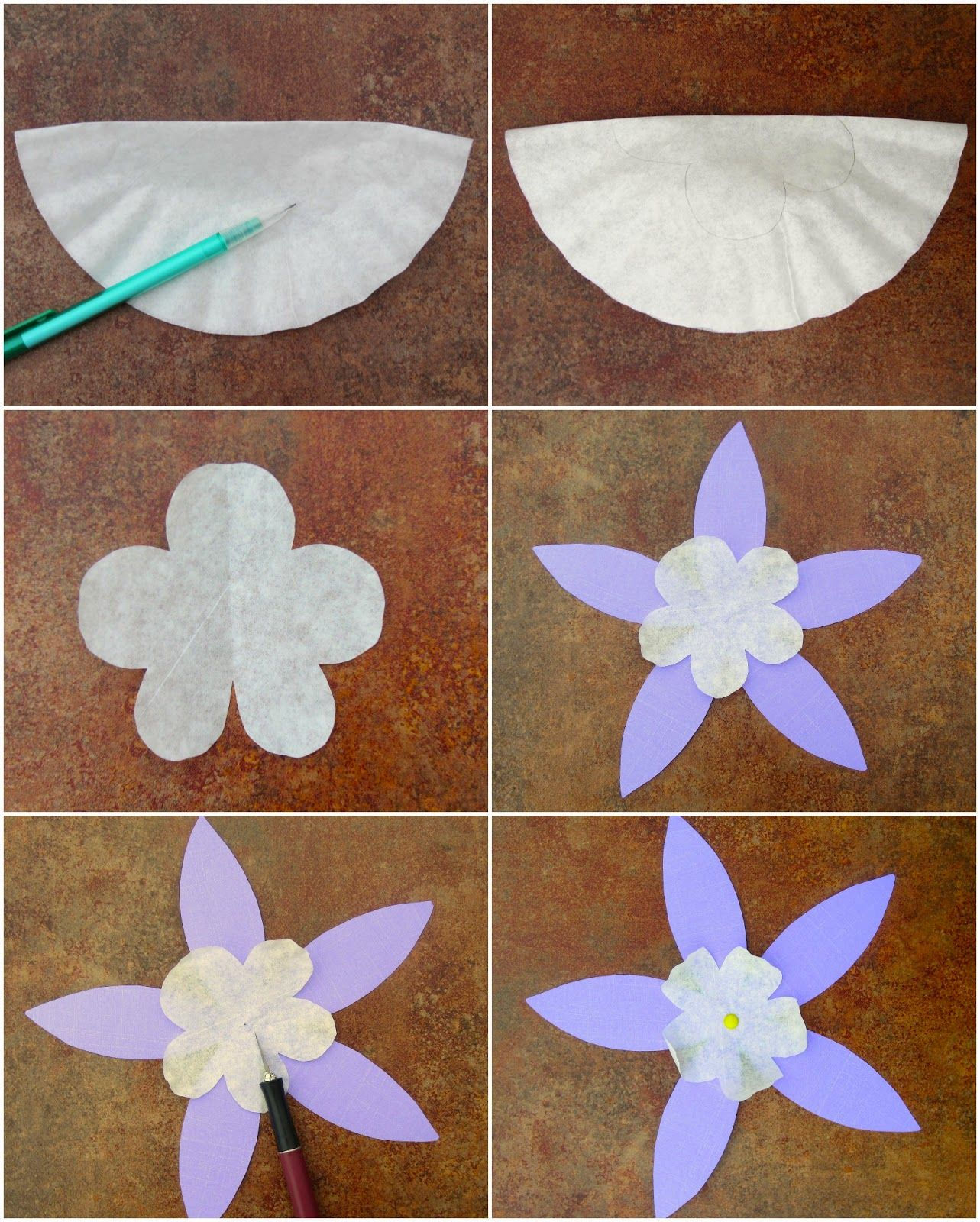 Flower Craft For Kids Rocky Mountain Columbine Grade 1 Usa And