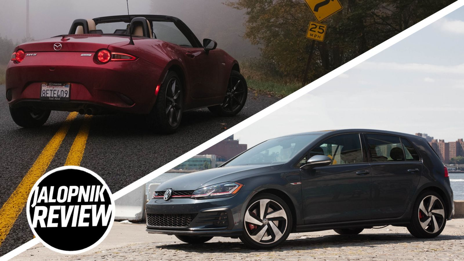 2019 Mazda Miata Vs 2018 Volkswagen Golf Gti Which To Buy