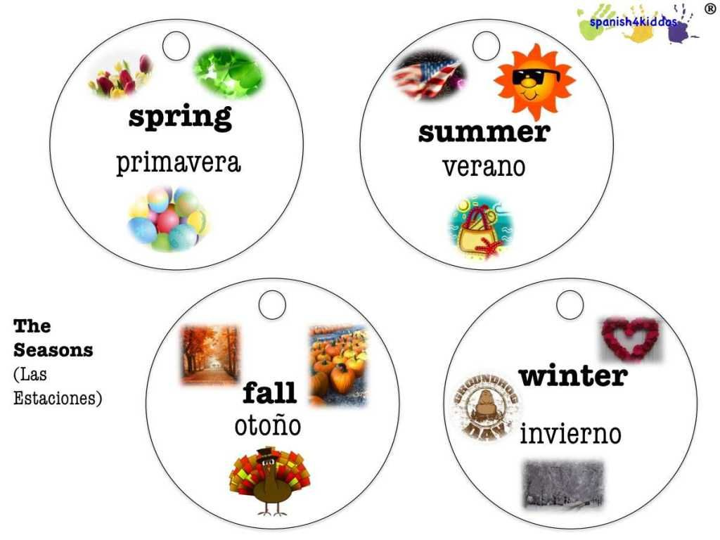 Spanish Seasons
