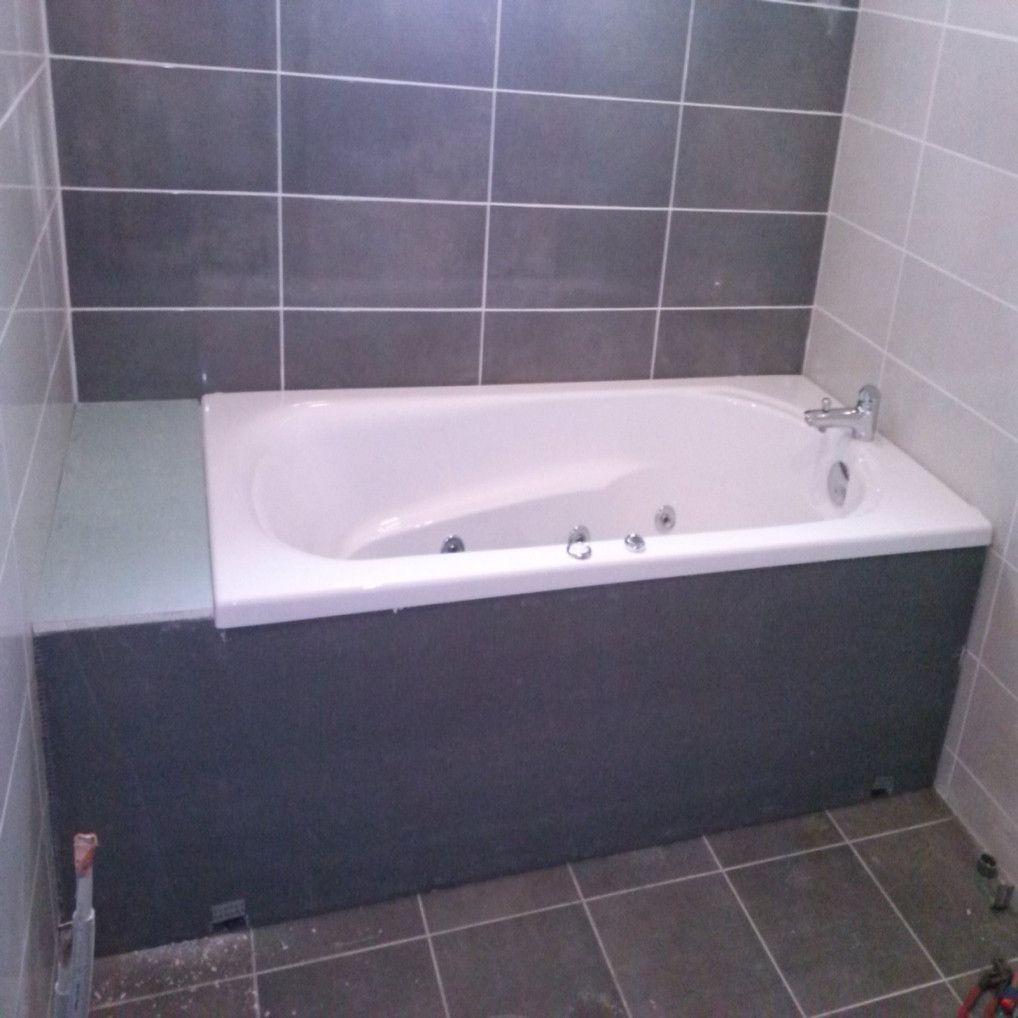 Tablier Baignoire A Carreler Vous Aimerez Pour Les Annees A Venir Bathtub Bathroom
