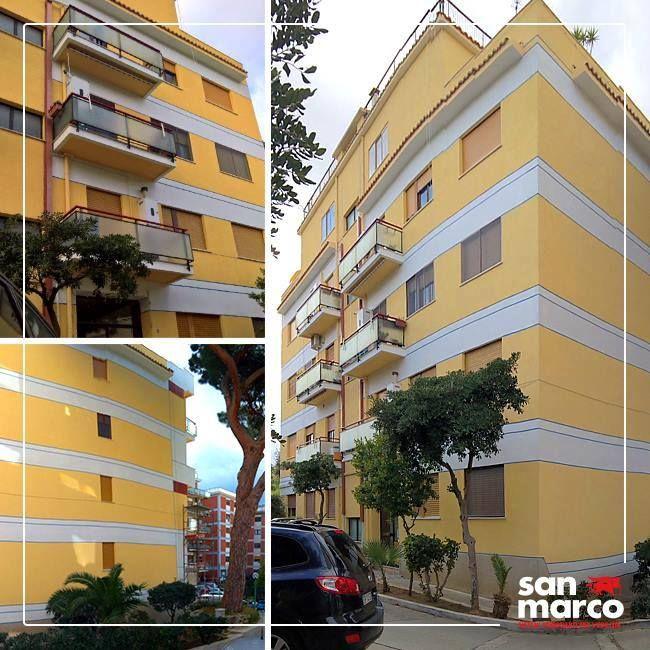 questo palazzo residenziale è stato rimesso a nuovo nelle sue ... - San Marco Arredo Bagno