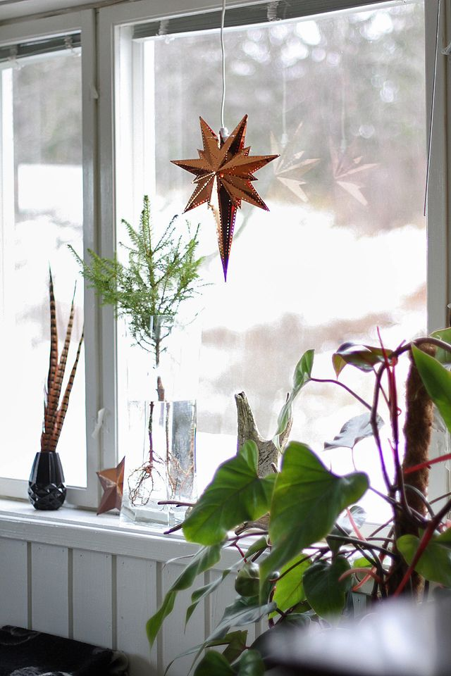 www.anmagritt.no #spurce #advent #copper #star #christmas