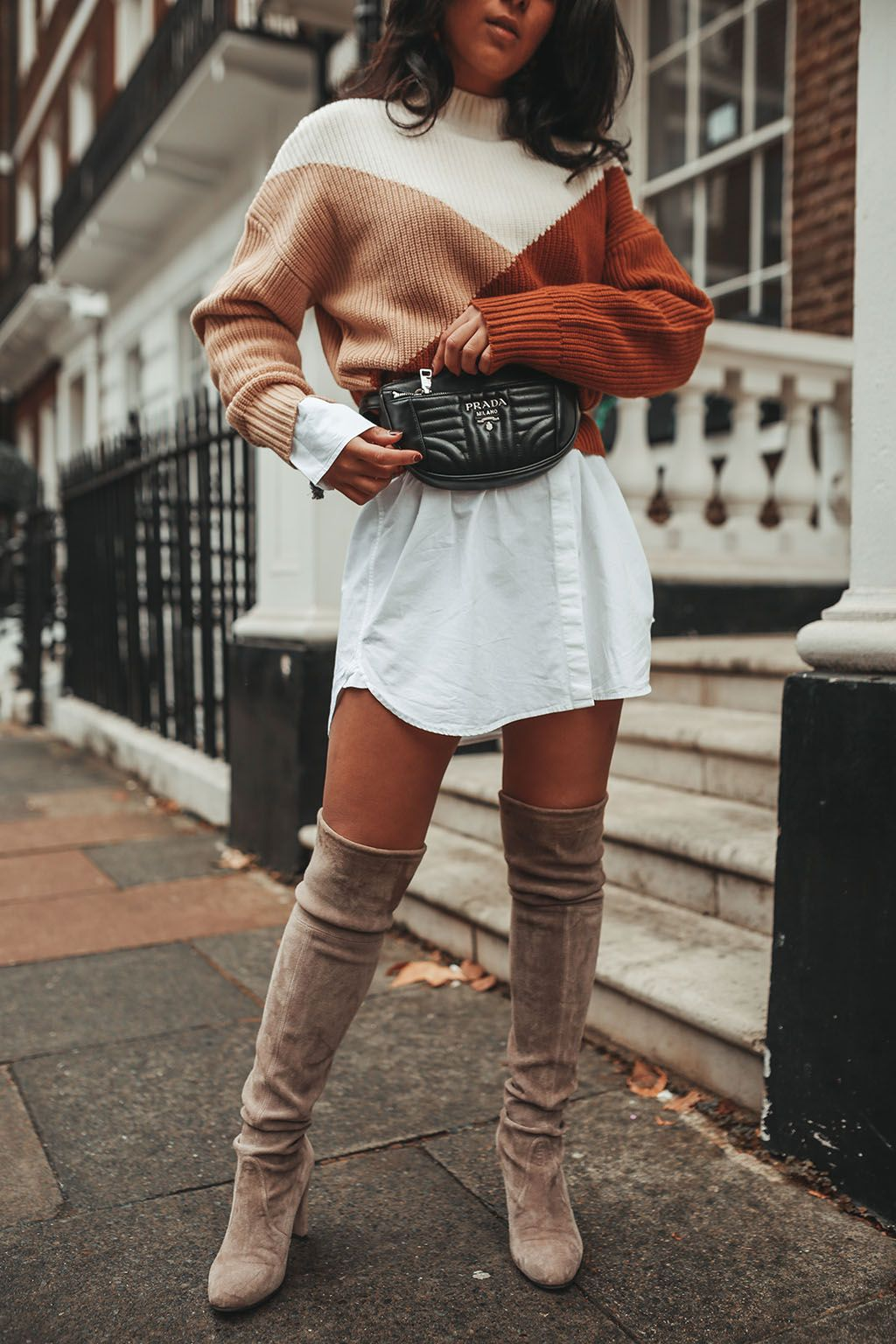 Luxury fashion blogger Shloka Narang of The Silk Sneaker shares her  favourite trending sweater styles for 2018 featuring   other Stories and  more f1f3be0a5
