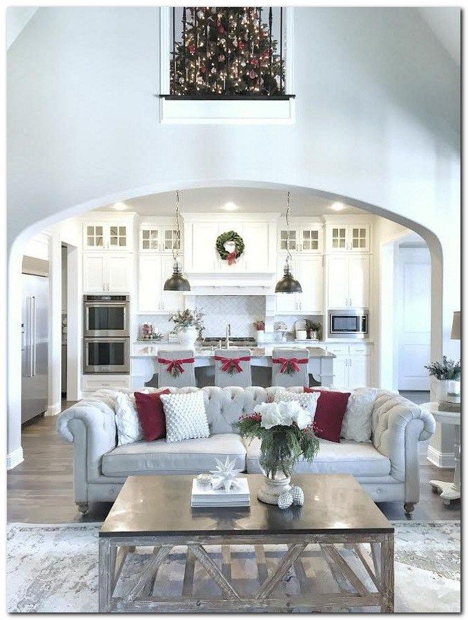Open space living inspiration the urban interior also our light brick archway in kitchen  hearth room diy painting rh pinterest