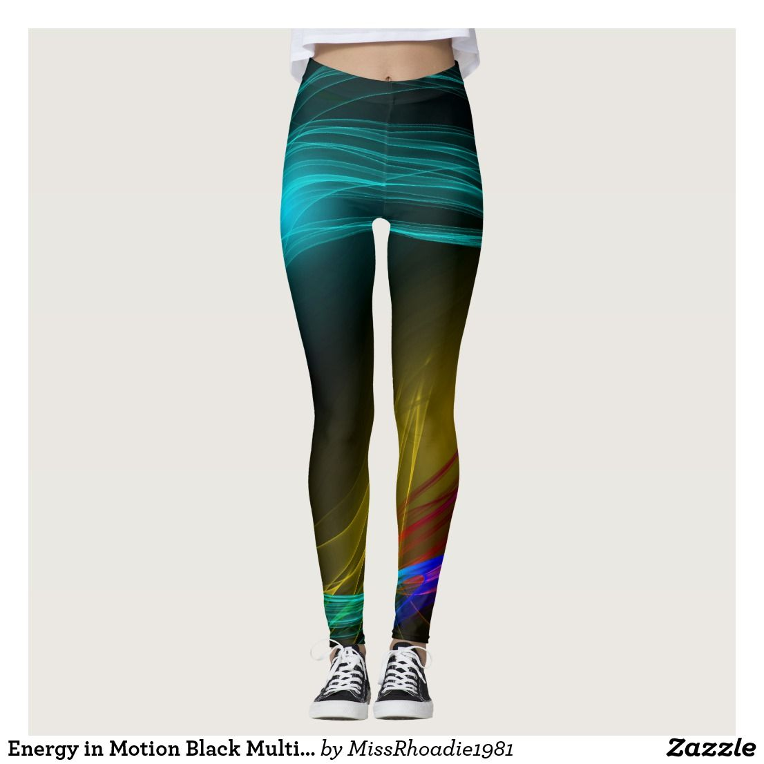 41e51a3043 Neon Pink Trendy 80s Leggings | Zazzle.com | Women's Fashion and ...