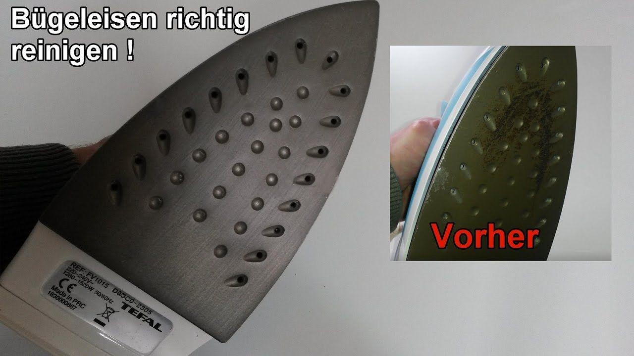 Bugeleisen Schonend Und Einfach Reinigen Haushaltipp Bugeleisensohle Saubern Lifehack Youtube Bugeleisen Reinigen Bugeleisen Saubern