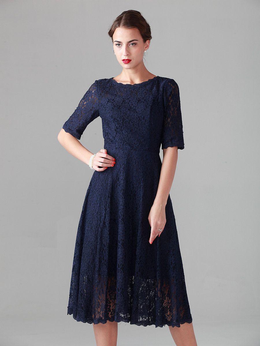 Midnight dress color