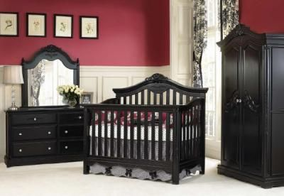 Munire Furniture Savannah Crib Onyx