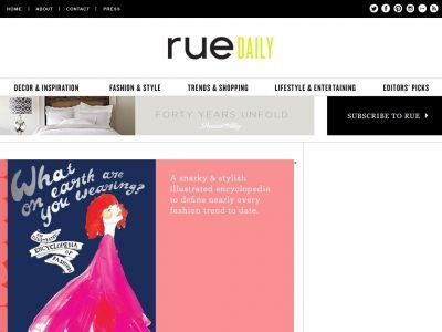 ruemag #inspiration #art #design #trends #fashion #living #decor #lifestyle #discover #blogroll