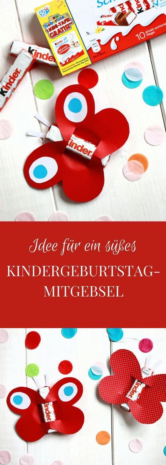 Anzeige: Kindergeburtstag feiern: Ideen für eine Kindergeburtstag-Einladungskarte und ein Kindergeburtstag-Mitgebsel mit Ferrero kinder Schokolade - Lavendelblog