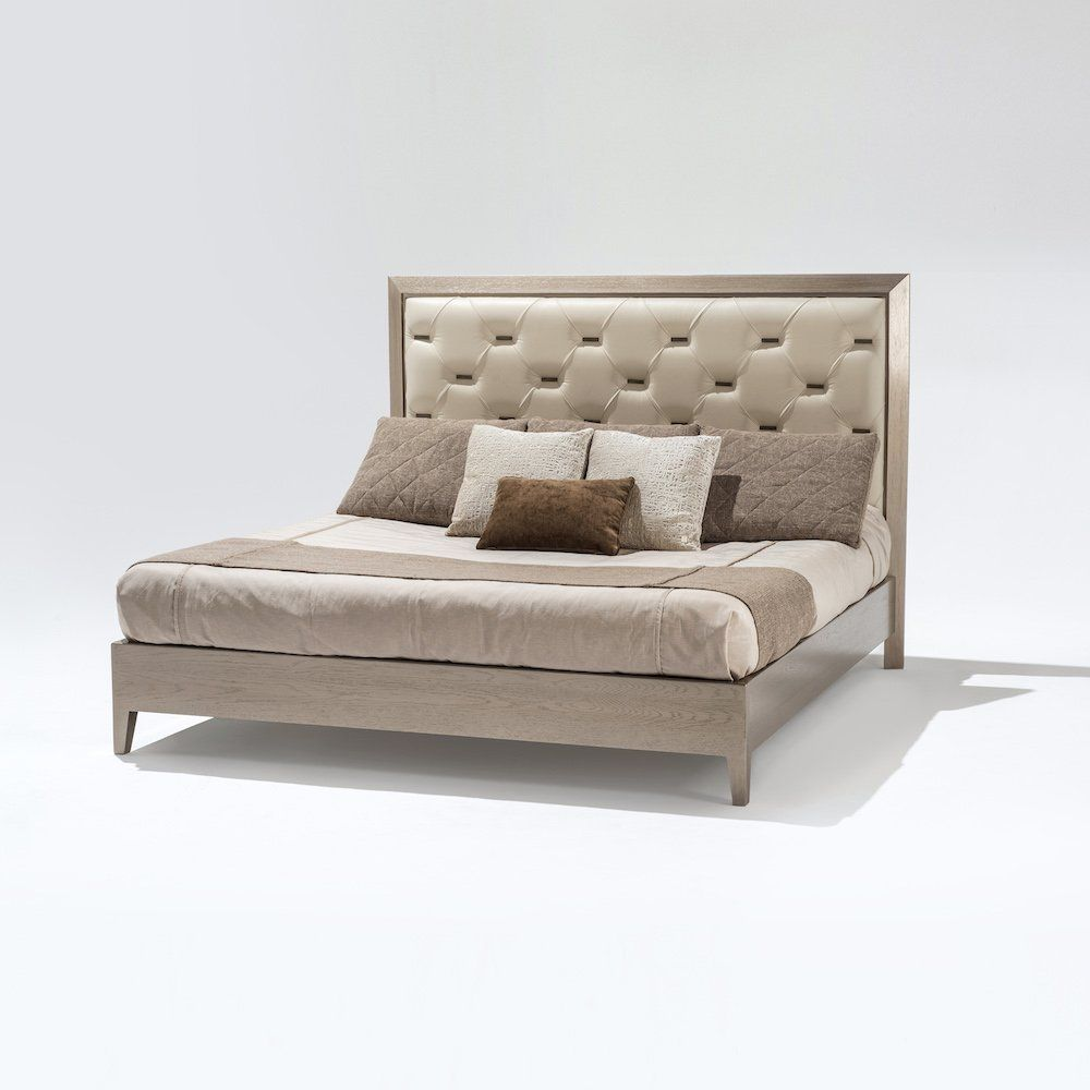 Caramelo quilted bed 130 - Adriana Hoyos Furnishings