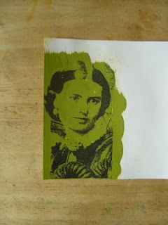 Acrylic Paint Transfer