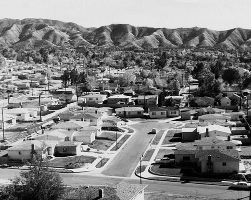 Suburbia San Fernando Valley California Nostalgia