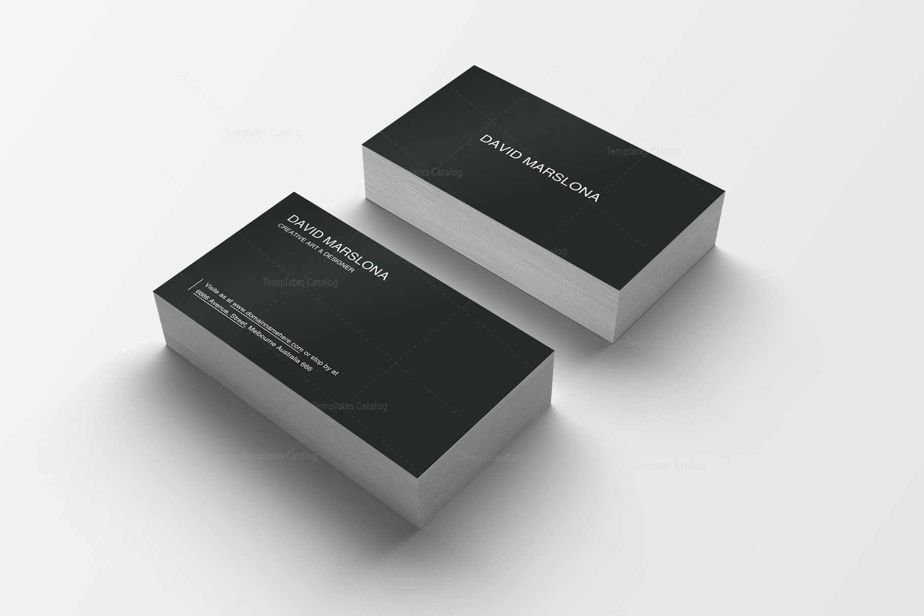 Easy Print Business Card Design Graphic Templates Printing Business Cards Business Card Design Letterpress Business Cards