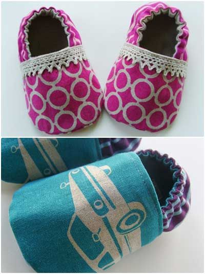 Lilac Baby Booties Sewing Pattern Download From E Patternscentral