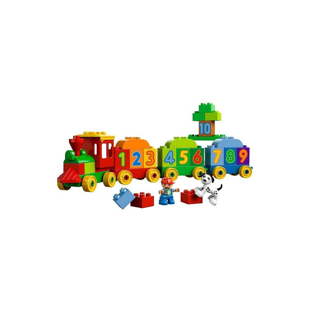Lego Duplo - Le train des chiffres - 10558 - Lego - Toys\