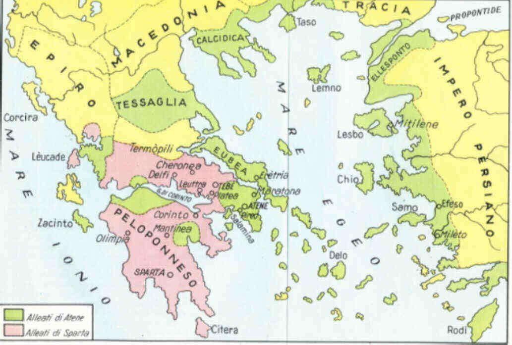 Cartina Della Grecia Antica In Italiano.I Greci Storia Storia Antica Greci